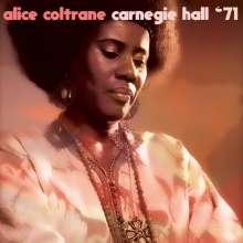 Alice Coltrane (1937-2007): Carnegie Hall '71, CD
