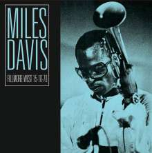Miles Davis (1926-1991): Live At The Fillmore West 15-10-70, CD