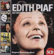 Edith Piaf (1915-1963): Retrospective 1936-1962, 5 CDs