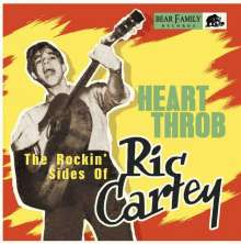 Ric Cartey: Heart Throb - The Rockin' Sides Of Ric Cartey, Single 10""