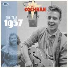 """Eddie Cochran: The Year 1957, 2 Single 10""""s"""