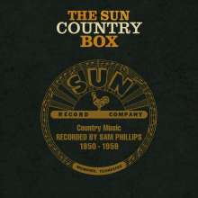 The Sun Country Box: Country Music Recorded By Sam Phillips 1950 - 1959, 6 CDs