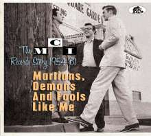 Martians, Demons and Fools Like Me: The MCI Records Story 1954 - 61, CD