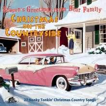 Christmas On The Countryside: 27 Honky Tonkin' Christmas Country Songs, CD