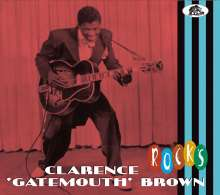 "Clarence ""Gatemouth"" Brown: Rocks, CD"