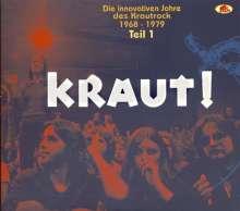 KRAUT! - Die innovativen Jahre des Krautrock 1968-1979 - Teil 1, 2 CDs