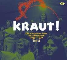 KRAUT! - Die innovativen Jahre des Krautrock 1968 - 1979 Teil 2, 2 CDs