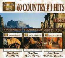 60 Country No. 1 Hits, 3 CDs