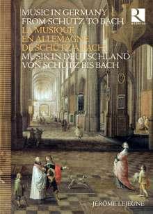 Musik in Deutschland von Schütz bis Bach, 8 CDs