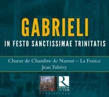 """Giovanni Gabrieli (1557-1612): Canzoni & Sonate - """"In Festo sanctissimae Trinitatis"""", CD"""