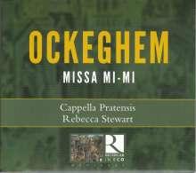 Johannes Ockeghem (1430-1497): Missa Mi-Mi, CD