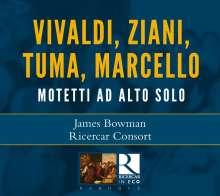 James Bowman - Motetti Ad Alto Solo, CD