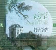 Wilhelm Friedemann Bach (1710-1784): Kammermusik, 2 CDs