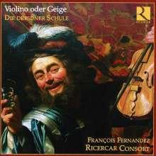 """Deutsche Kammermusik des Barock """"Die Dresdner Schule"""", 2 CDs"""