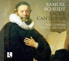 Samuel Scheidt (1587-1654): Cantiones Sacrae, CD