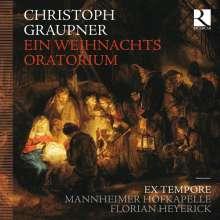 Christoph Graupner (1683-1760): Ein Weihnachtsoratorium, 2 CDs