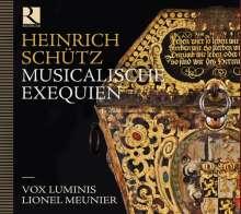 Heinrich Schütz (1585-1672): Musikalische Exequien SWV 279, CD