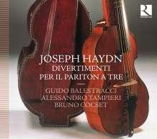 Joseph Haydn (1732-1809): Baryton-Trios H11 Nr.42,59,66,70,96,101, CD