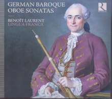 Benoit Laurent - German Baroque Oboe Sonatas, CD