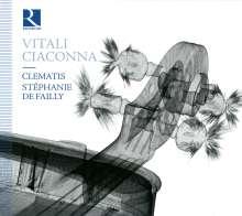 Tomaso Antonio Vitali (1670-1745): Ciaccona - Musik für Violine, CD