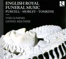 English Royal Funeral Music, CD