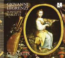 Giovanni Legrenzi (1626-1690): Sonate e Balletti, CD