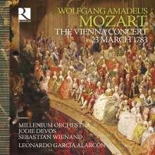 Wolfgang Amadeus Mozart (1756-1791): Mozart - Das Wiener Konzert vom 23.03.1783, 2 CDs