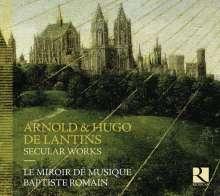 Arnold de Lantins (1400-1432): Weltliche Werke, CD
