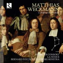 Matthias Weckmann (1619-1674): Sämtliche Werke, 5 CDs