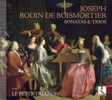 Joseph Bodin de Boismortier (1689-1755): Kammermusik - Sonaten & Trios, CD