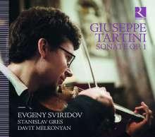 Giuseppe Tartini (1692-1770): Sonaten für Violine & Bc, CD