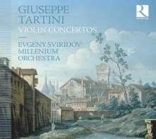 Giuseppe Tartini (1692-1770): Violinkonzerte D.24,48,55,85,89, CD