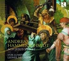 """Andreas Hammerschmidt (1612-1675): Geistliche Werke """"Ach Jesus stirbt"""", CD"""