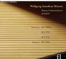 Wolfgang Amadeus Mozart (1756-1791): Klaviersonaten Nr.10,17,18, CD