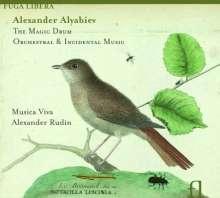 Alexander Alyabiev (1787-1851): Orchesterwerke & Schauspielmusiken, CD
