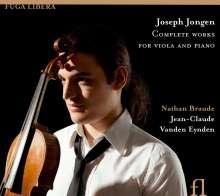 Joseph Jongen (1873-1953): Sämtliche Werke für Viola & Klavier, CD