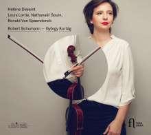 György Kurtag (geb. 1926): Hommage a Robert Schumann für Klarinette,Viola & Klavier, CD