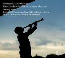 Contemporary Clarinet Concertos, CD