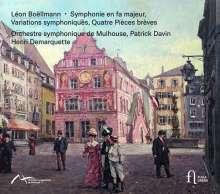Leon Boellmann (1862-1897): Symphonie F-Dur, CD