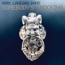 Mark Lanegan: Somebody's Knocking (Limited-Edition) (Blue Vinyl), 2 LPs