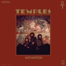 Temples: Hot Motion (Limited Edition) (Translucent Red w/ Black Marbled Vinyl), LP