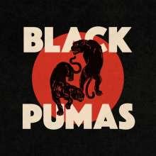 Black Pumas: Black Pumas (Deluxe Edition) (Translucent W/ Black & Red Splatter Vinyl), 1 LP und 1 CD