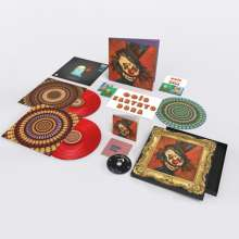 Eels: Earth To Dora (180g) (Limited Deluxe Edition) (Translucent Red Vinyl) (45 RPM), 2 LPs und 1 CD
