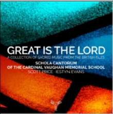 Great is the Lord - A Collection of Sacred Music from the British Isles, CD