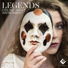 Coline Jaget - Legends, CD