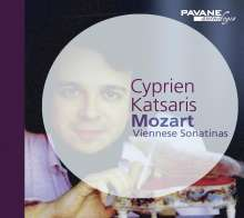 Wolfgang Amadeus Mozart (1756-1791): Sonatinen Nr.1-6 nach KV 439b (Wiener Sonatinen), CD