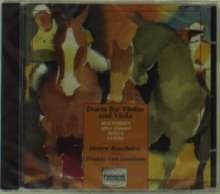Reinhold Gliere (1875-1956): 8 Duos für Violine & Viola op.39, CD