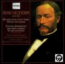 Henri Vieuxtemps (1820-1881): Fantasie op.35 f.Violine & Orchester, CD