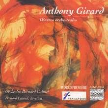 Anthony Girard (geb. 1959): Konzert für Klavier, Cello & Kammerorchester, CD