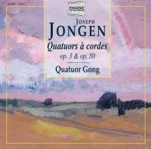 Joseph Jongen (1873-1953): Streichquartette Nr.1 & 2, CD